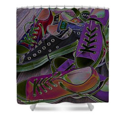 Converse Shower Curtain
