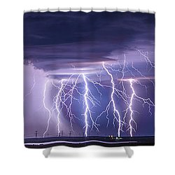 Conway Bolts Shower Curtain