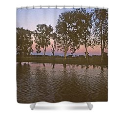 Cooinda Northern Territory Australia Shower Curtain