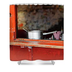 Cooking Pot Shower Curtain