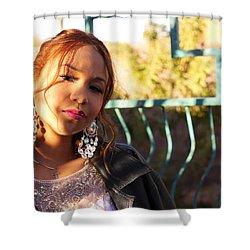 Cool Autum Shower Curtain