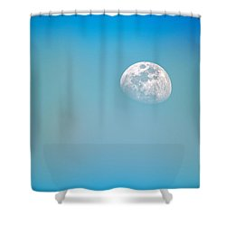 Cool Blue Shower Curtain