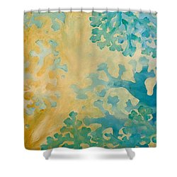 Cool Coral Shower Curtain