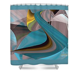 Cool Curvelicious Shower Curtain