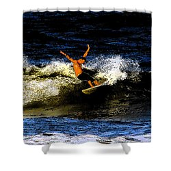 Cool Dude Shower Curtain by David Lee Thompson