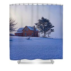 Cool Farm Shower Curtain