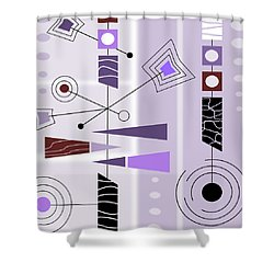 Cool New Purple Shower Curtain