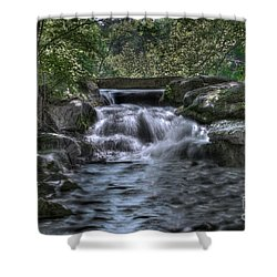 Cooling Waters  Shower Curtain by Tamyra Ayles