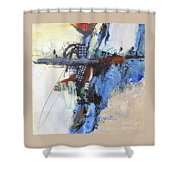 Coolly Collected Shower Curtain