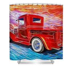 Coolville  Shower Curtain