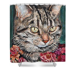 Cooper The Cat Shower Curtain