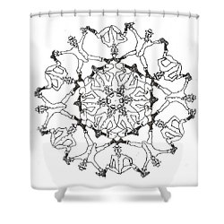 Coots Ala Bugsby Shower Curtain
