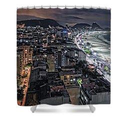 Copacabana Lights Shower Curtain