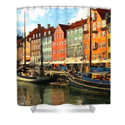 Copenhagen Shower Curtain