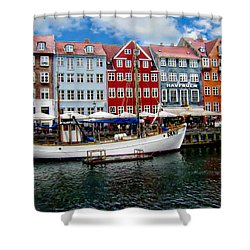Copenhagen - Denmark Shower Curtain