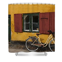Copenhagen Still Life Shower Curtain