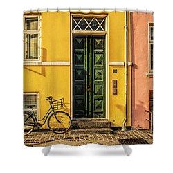 Copenhagen Transportation Shower Curtain