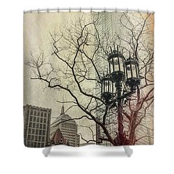 Shower Curtain featuring the photograph Copley Square - Boston by Joann Vitali