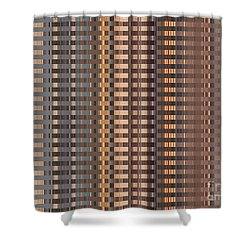 Sunny Copper Highrise Shower Curtain