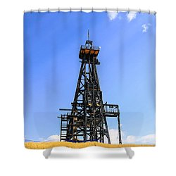 Copper Mine In Montana Shower Curtain