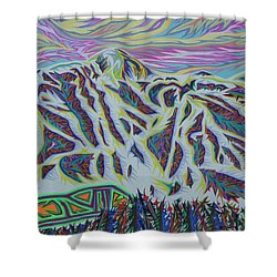 Copper Mountain Shower Curtain