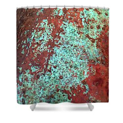 Copper Patina No. 22-1 Shower Curtain