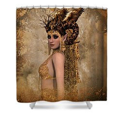 Copper Queen Shower Curtain