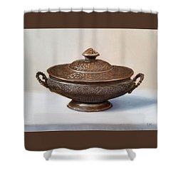 Copper Vessel Shower Curtain