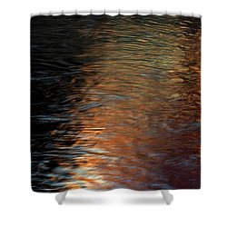 Shower Curtain featuring the photograph Copper Water by Kenneth Campbell