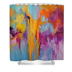 Coral Fanstasy Shower Curtain