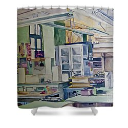 Corcoran School Of Art Ceramic Studio Back In The Days Shower Curtain