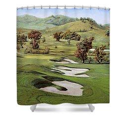 Cordevalle Golf Course Shower Curtain