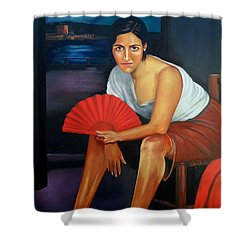 Cordoba De Noche  Shower Curtain