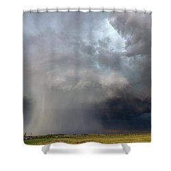 Cored Shower Curtain