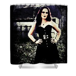 Corinne 1 Shower Curtain