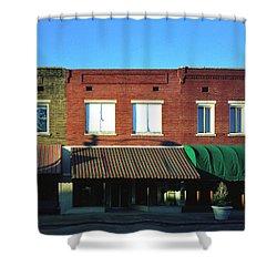 Corinth Light Shower Curtain by Jan W Faul