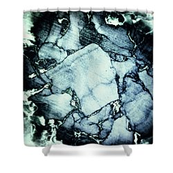 Cork Abstraction Shower Curtain by Wim Lanclus
