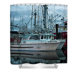 Shower Curtain featuring the photograph Cork To Cork by Randy Hall