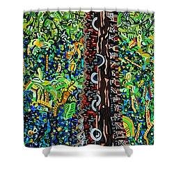 Corkscrew Swamp Sanctuary 2 Shower Curtain by Micah Mullen