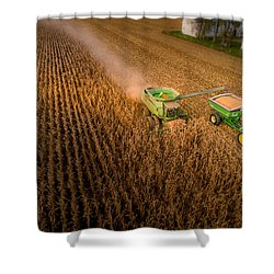 Corn Dust Shower Curtain