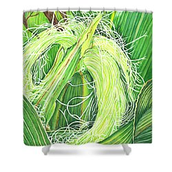 Corn Silk Shower Curtain