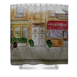 Cornelia Street In Greenwich Village Shower Curtain