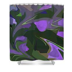 Corner Flower Shop  Shower Curtain