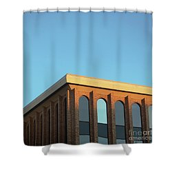 Shower Curtain featuring the photograph Corner Light by Sebastian Mathews Szewczyk