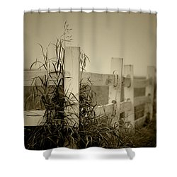 Corner Of The Farm Shower Curtain