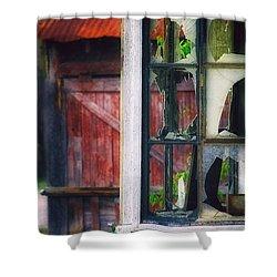 Corner Store Shower Curtain