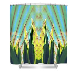 Cornfield At Sunrise Shower Curtain