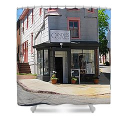 Cornhill And Fleet Shower Curtain