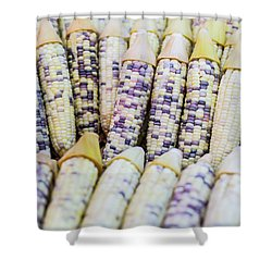 Shower Curtain featuring the photograph Corns  by Jingjits Photography