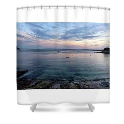 St Mawes Sunset Shower Curtain